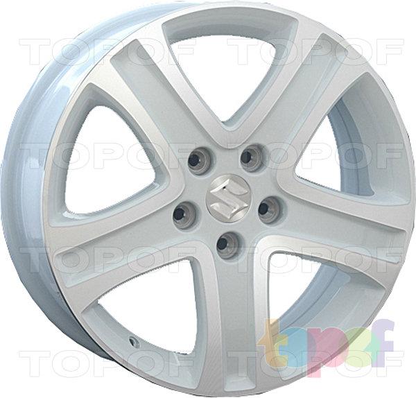Колесные диски Replay (Replica LS) SZ5. Цвет белый полированный