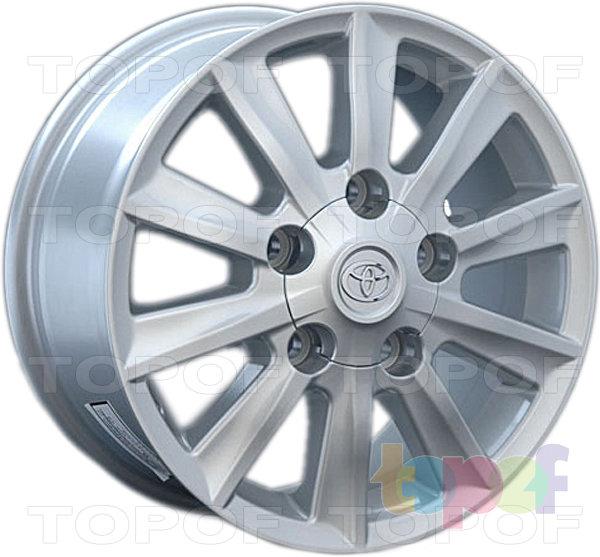 Колесные диски Replay (Replica LS) TY43. Цвет серебряный