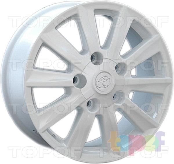 Колесные диски Replay (Replica LS) TY43. Цвет белый