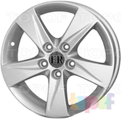 Колесные диски Replica FR FR608. Оригинальный дизайн для HYUNDAI ELANTRA
