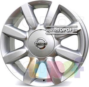 Колесные диски Replica FR FR804. Изображение модели #1