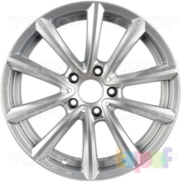 Колесные диски Replica H BM78H. Цвет Silver