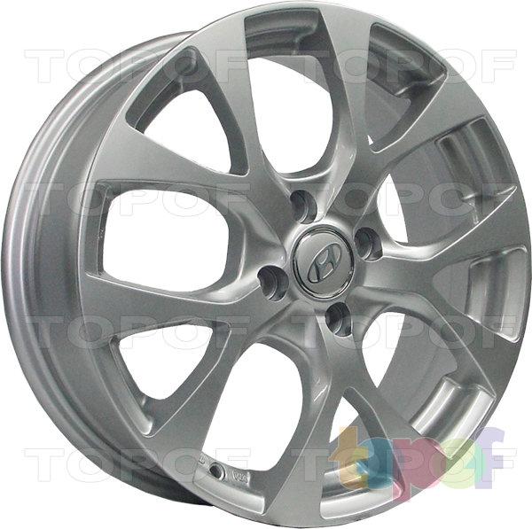 Колесные диски Replica H HY64. Изображение модели #1
