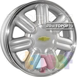 Колесные диски Replica HTS CH3. Изображение модели #1