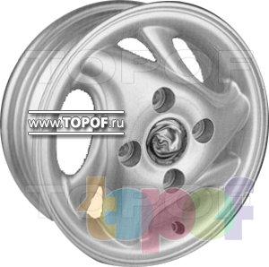 Колесные диски Replica HTS CH5. Изображение модели #1