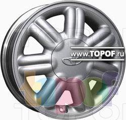 Колесные диски Replica HTS DA1. Изображение модели #1
