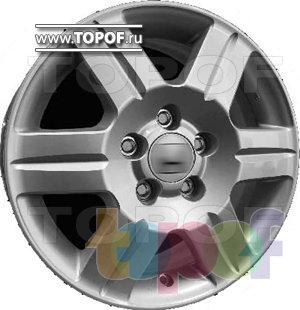 Колесные диски Replica HTS HO1. Изображение модели #1