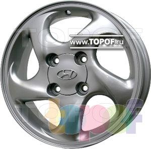 Колесные диски Replica HTS HY1. Изображение модели #1