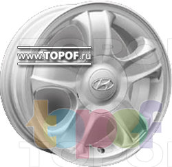 Колесные диски Replica HTS HY5