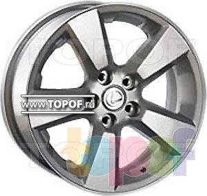 Колесные диски Replica HTS LE4. Изображение модели #1