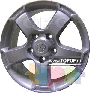 Колесные диски Replica HTS LE5