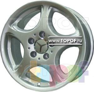 Колесные диски Replica HTS ME1. Изображение модели #1