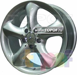 Колесные диски Replica HTS ME6. Изображение модели #1