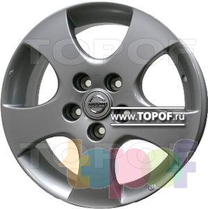 Колесные диски Replica HTS Ni1. Изображение модели #1