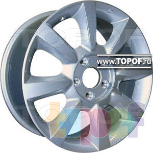 Колесные диски Replica HTS Ni6. Изображение модели #1