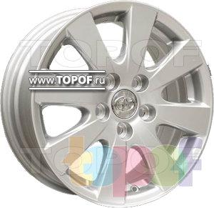 Колесные диски Replica HTS TO12. Изображение модели #1