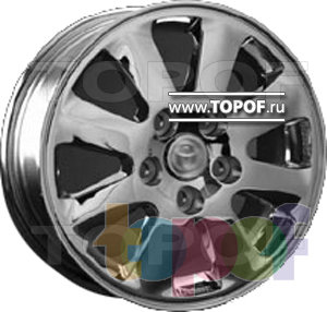 Колесные диски Replica HTS TO2. Изображение модели #1