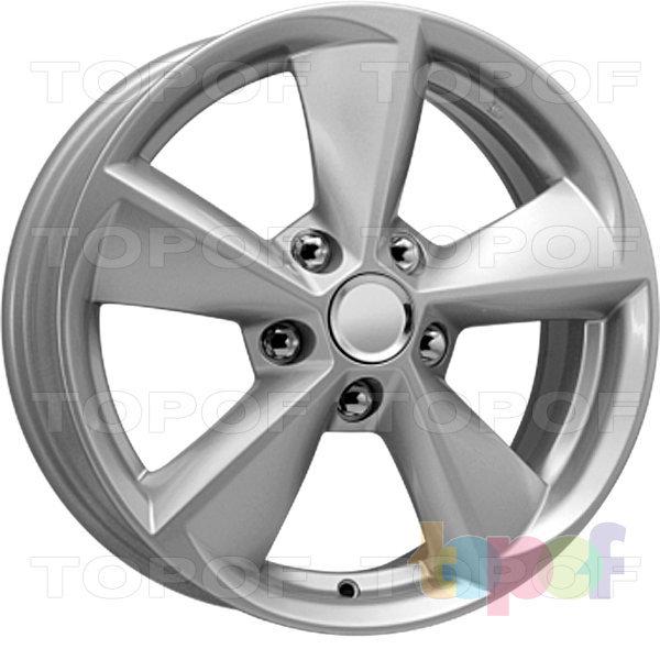 Колесные диски Replica КиК КС681. Цвет - сильвер
