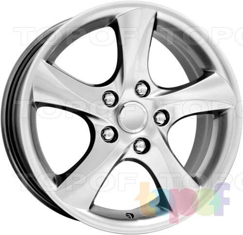 Колесные диски Replica КиК Mazda 6 (КС395). Изображение модели #1