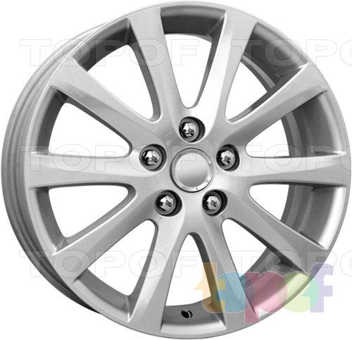 Колесные диски Replica КиК Mazda 6 (КС399). Изображение модели #1