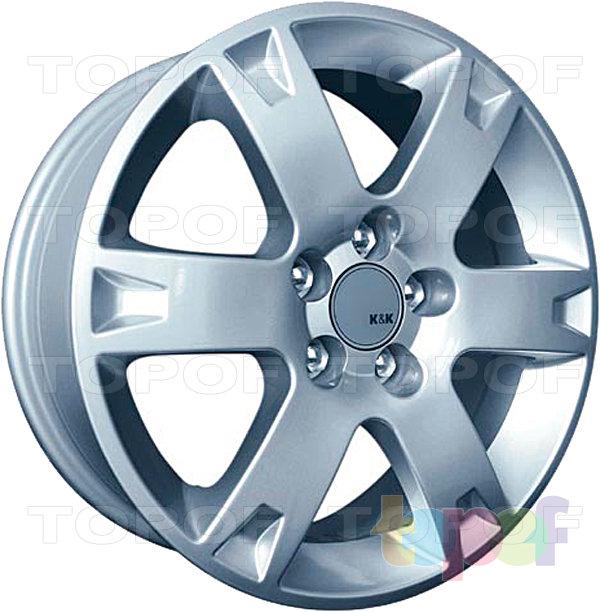 Колесные диски Replica КиК Toyota Avensis (КС238). Изображение модели #2