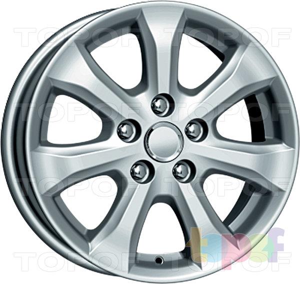 Колесные диски Replica КиК Toyota Camry V4 FL