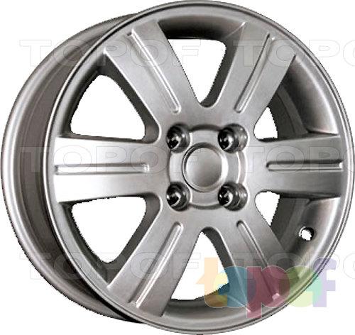 Колесные диски Replica КиК Toyota Corolla (КС291). Изображение модели #1