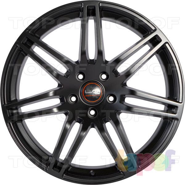 Колесные диски Replica LegeArtis A25. Цвет матовый черный