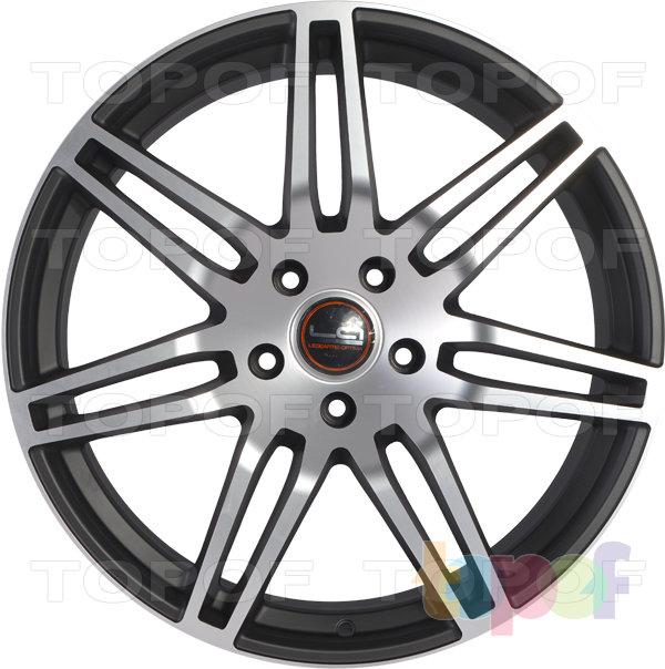 Колесные диски Replica LegeArtis A25. Цвет черный полированный