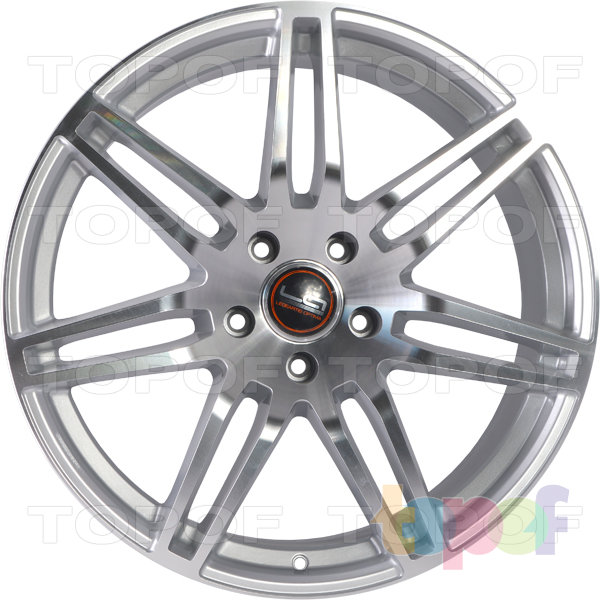 Колесные диски Replica LegeArtis A25. Цвет серебристый полированный