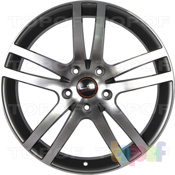 Колесные диски Replica LegeArtis A26. Цвет матовый серый полированный