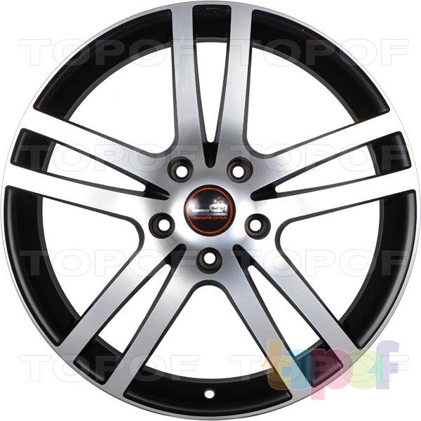 Колесные диски Replica LegeArtis A26. Цвет матовый черный полированный