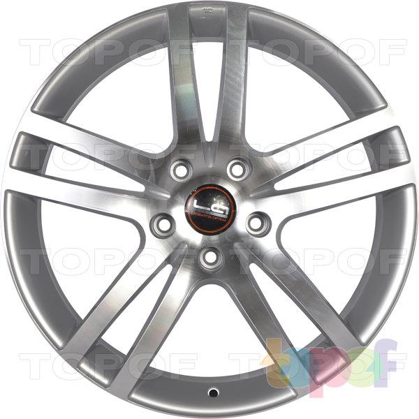 Колесные диски Replica LegeArtis A26. Цвет серебристый полированный