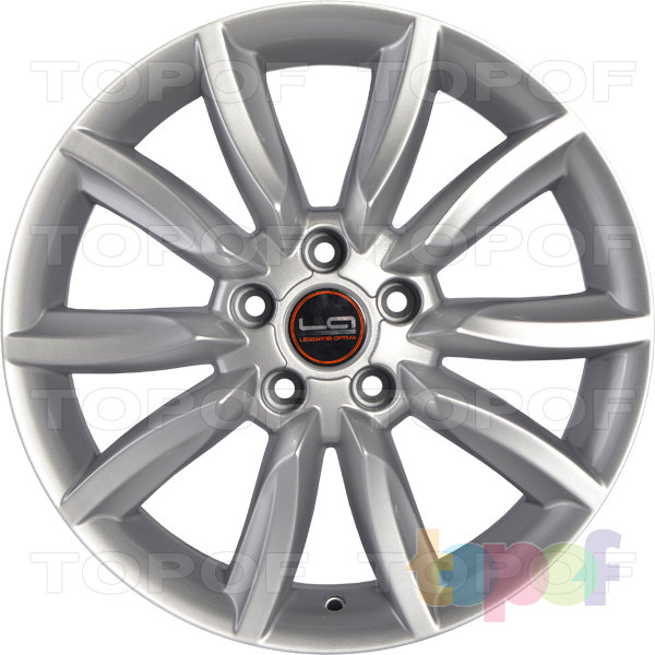 Колесные диски Replica LegeArtis A28. Цвет silver