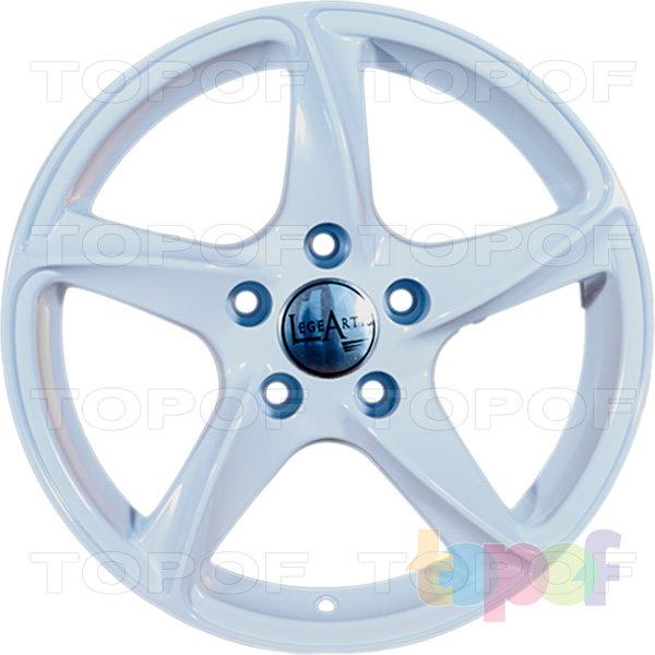 Колесные диски Replica LegeArtis A32. Цвет белый