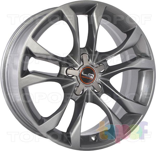Колесные диски Replica LegeArtis A35. Цвет серый матовый