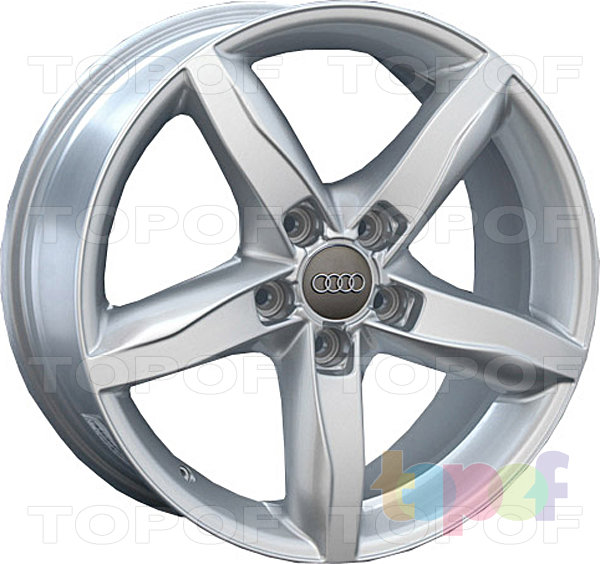 Колесные диски Replica LegeArtis A37. Цвет Silver