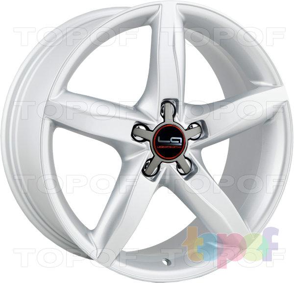 Колесные диски Replica LegeArtis A37. Цвет серебристый