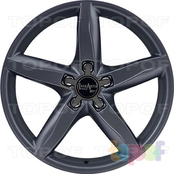 Колесные диски Replica LegeArtis A37. Цвет серый матовый