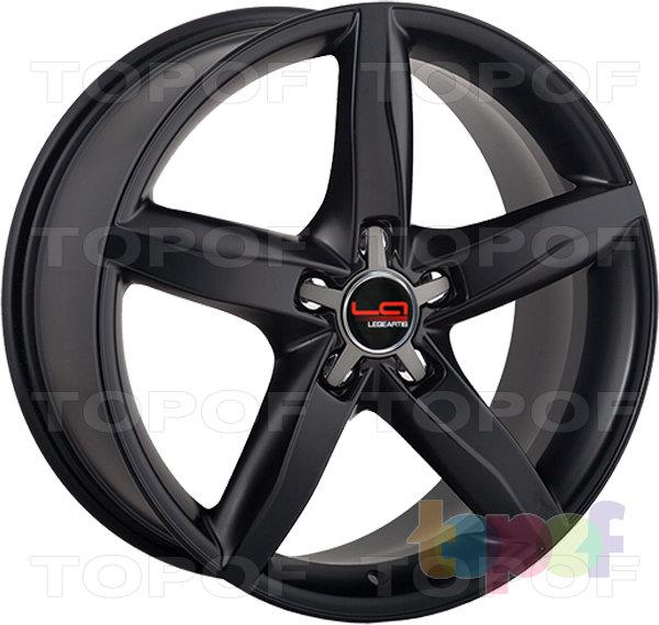 Колесные диски Replica LegeArtis A37. Цвет черный матовый