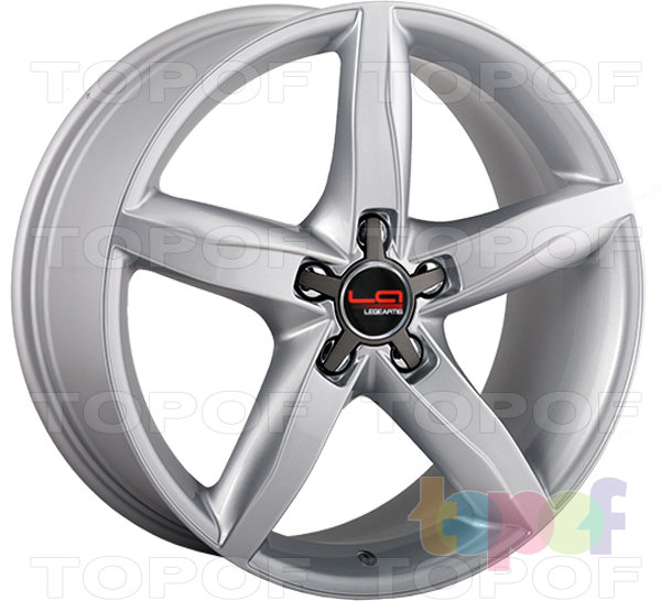 Колесные диски Replica LegeArtis A37. Цвет серебро