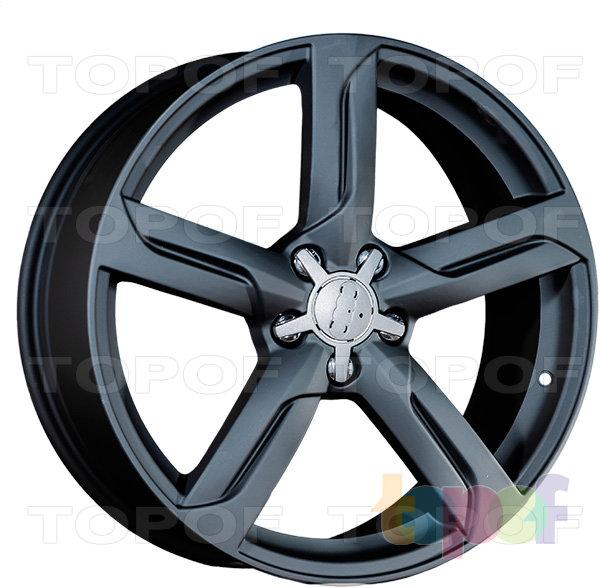 Колесные диски Replica LegeArtis A38. Цвет матовый черный