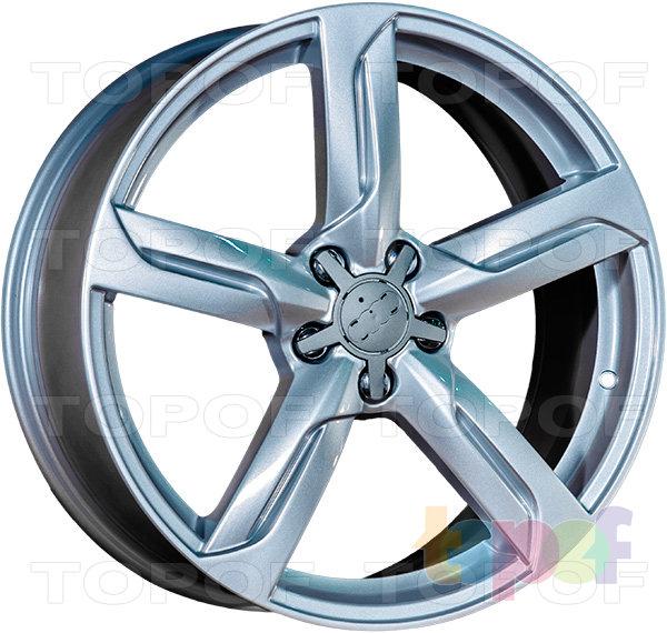 Колесные диски Replica LegeArtis A38. Цвет серебро