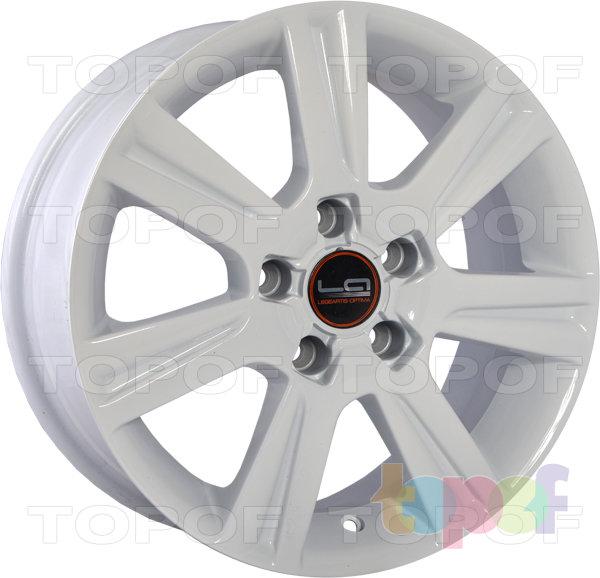Колесные диски Replica LegeArtis A39. Цвет белый