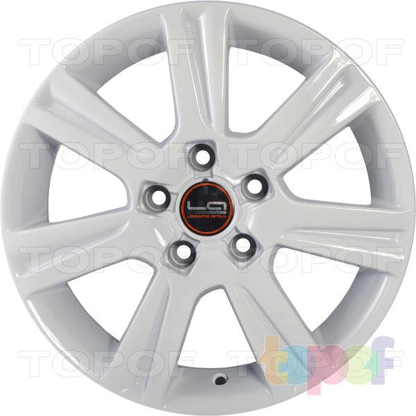 Колесные диски Replica LegeArtis A39. Цвет White