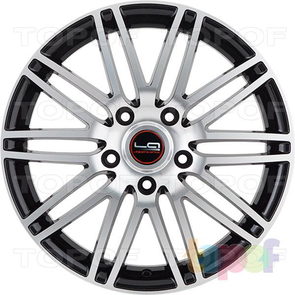 Колесные диски Replica LegeArtis A40. Цвет черный полированный (BKF)