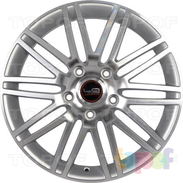 Колесные диски Replica LegeArtis A40. Цвет серебристый полированный