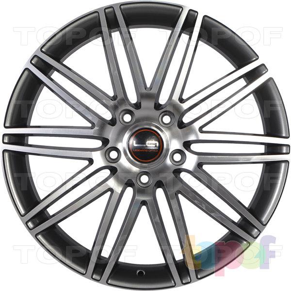 Колесные диски Replica LegeArtis A40. Цвет серый матовый полированный