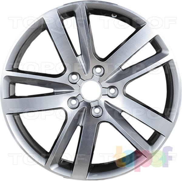 Колесные диски Replica LegeArtis A47. Цвет серый полированный