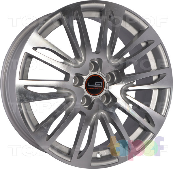 Колесные диски Replica LegeArtis A49. Цвет серебристый полированный